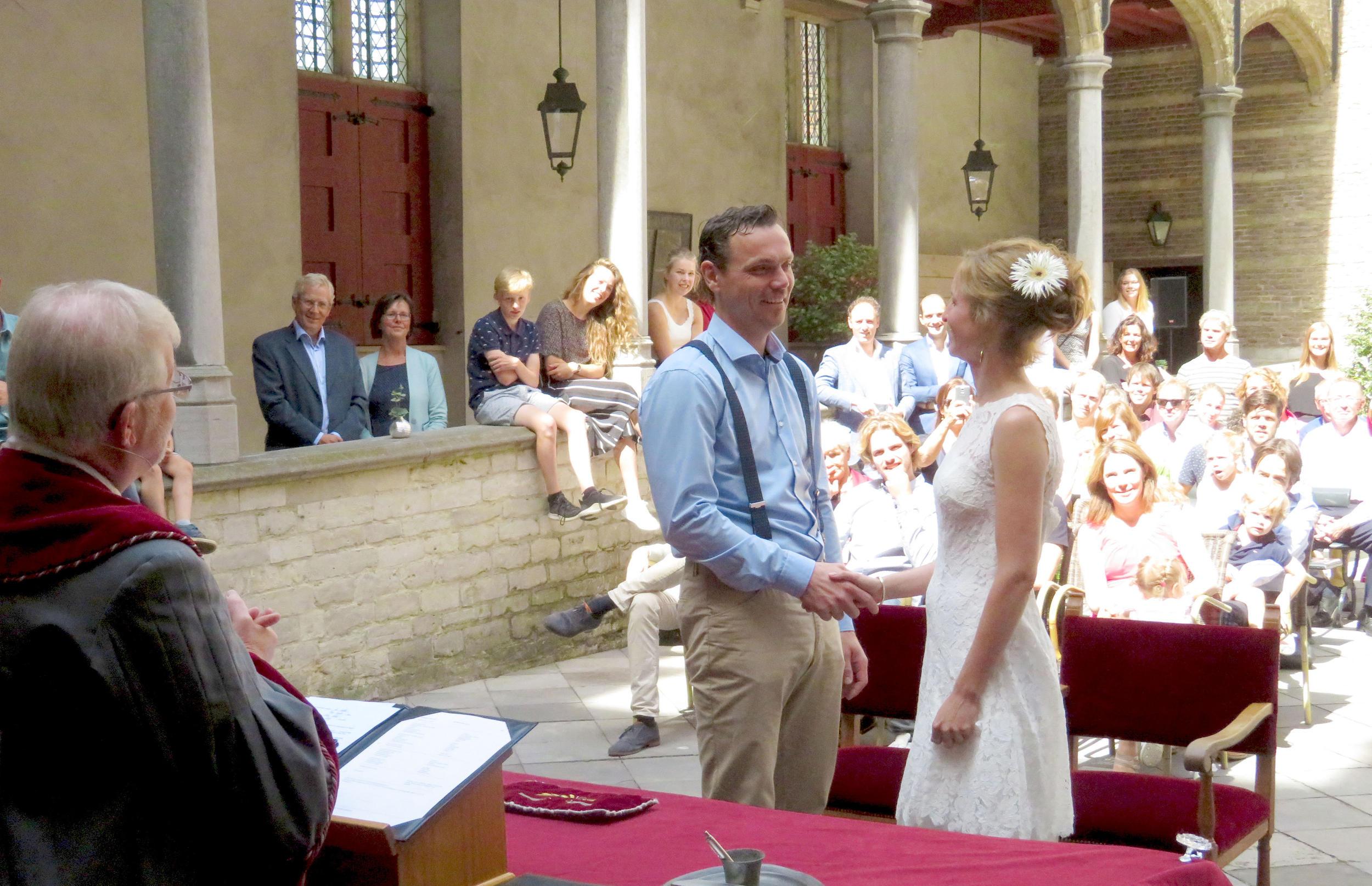 Bruiloft Kleine Binnenplaats