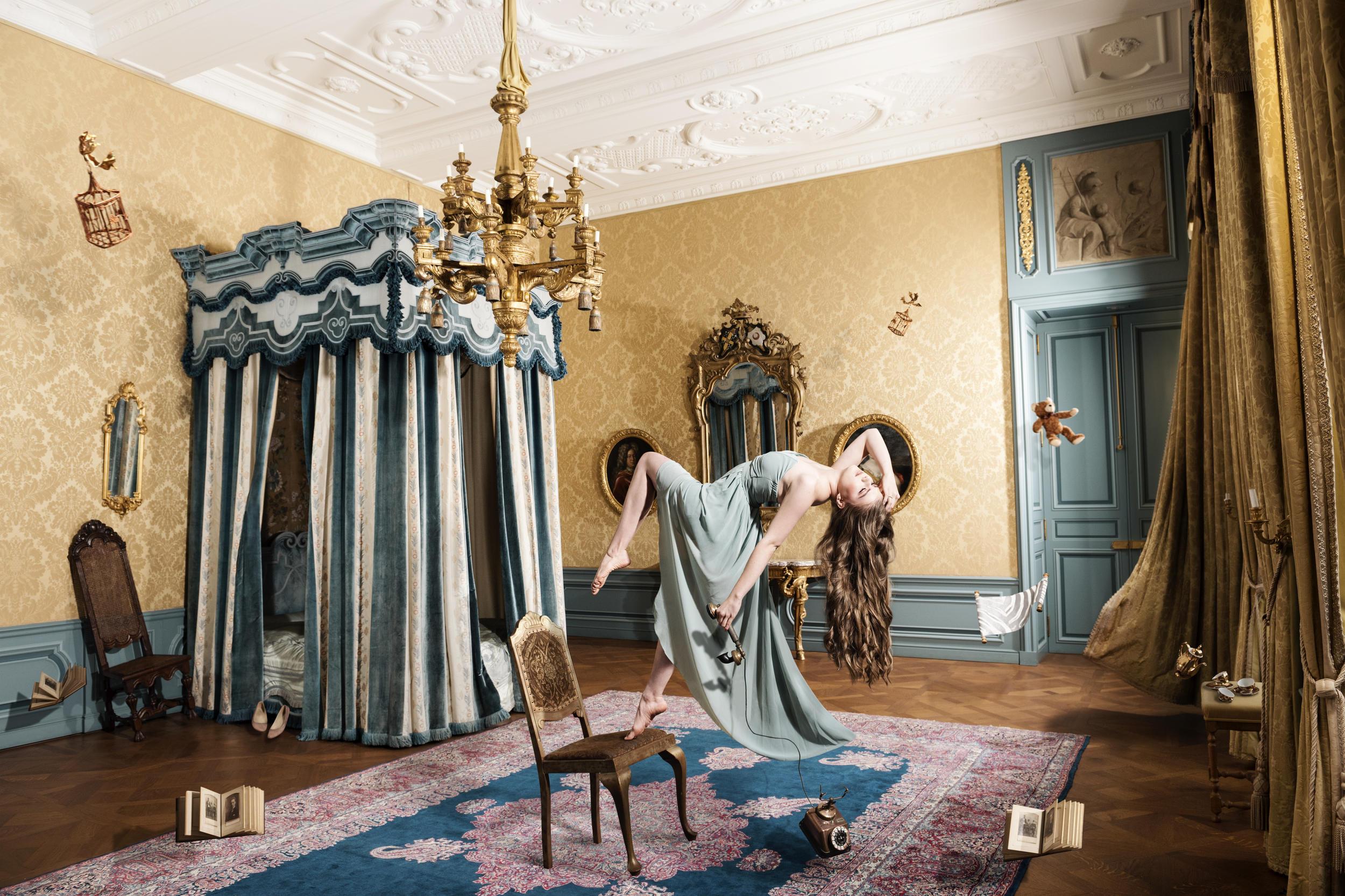 Stijlkamer kunstproject fotoshoot